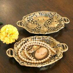 真鍮 小皿 アッシュトレイ ソープディッシュ