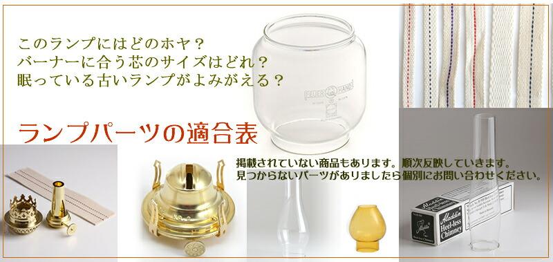 オイルランプ 芯 ホヤ ガラス パーツ バーナー 口金 ランプ部品 ランタン