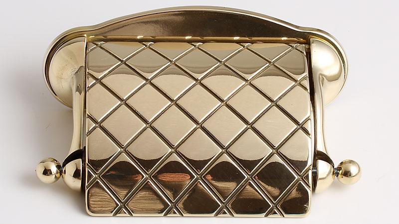 真鍮トイレットペーパーホルダー紙巻器ルネサンス-PB JBP152-PB