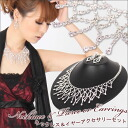 Decorate the decollete in luxurious splendor, necklace & earring or earrings & party accessories