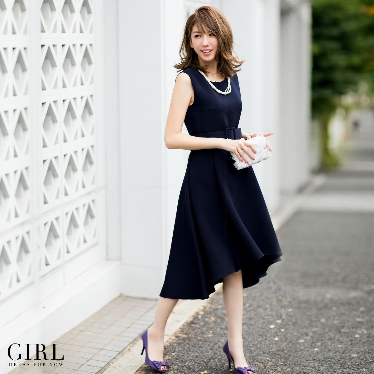 girl 結婚式 ワンピース