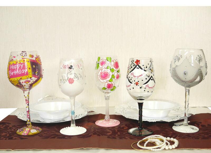 ワイングラス「ウェディングパーティー」-5