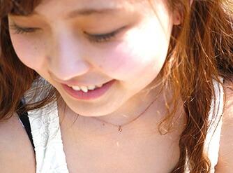 サージカルステンレス プリンセスネックレス-3