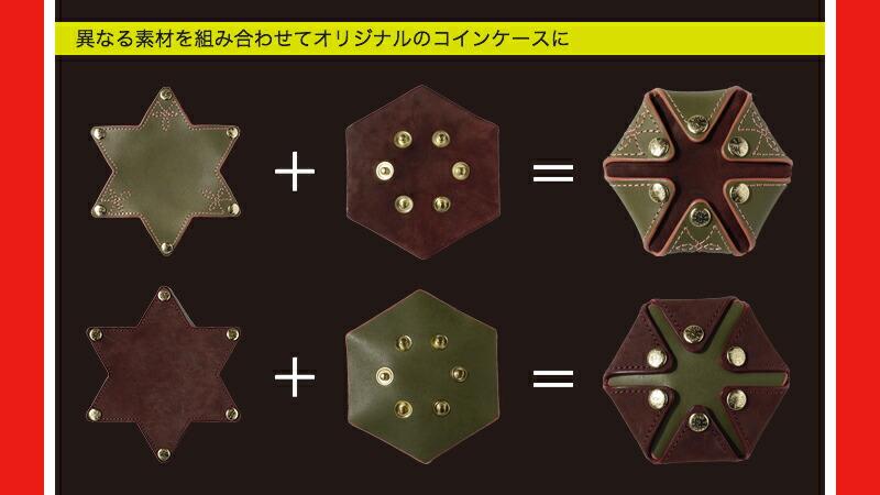 『HEXAGON 栃木レザーorイタリアンレザー コインケース』-10