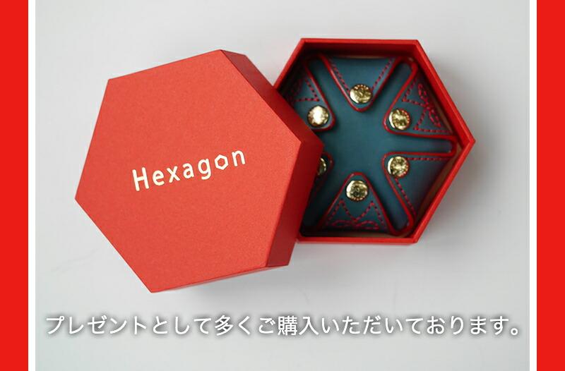 『HEXAGON 栃木レザーorイタリアンレザー コインケース』-11