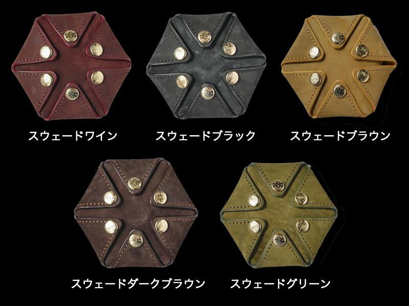 『HEXAGON 栃木レザーorイタリアンレザー コインケース』-7