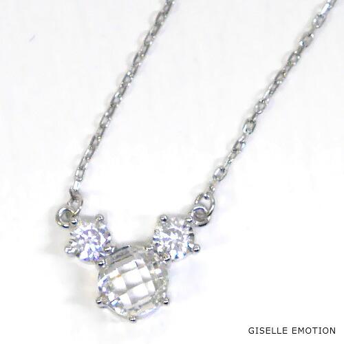 『天然ダイヤモンドローズ×2.3CTマウスモチーフネックレス』-2