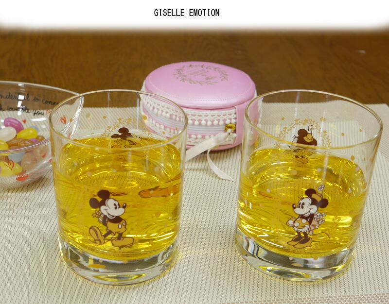 ディズニー正規品 side by sideペアロックグラス-3