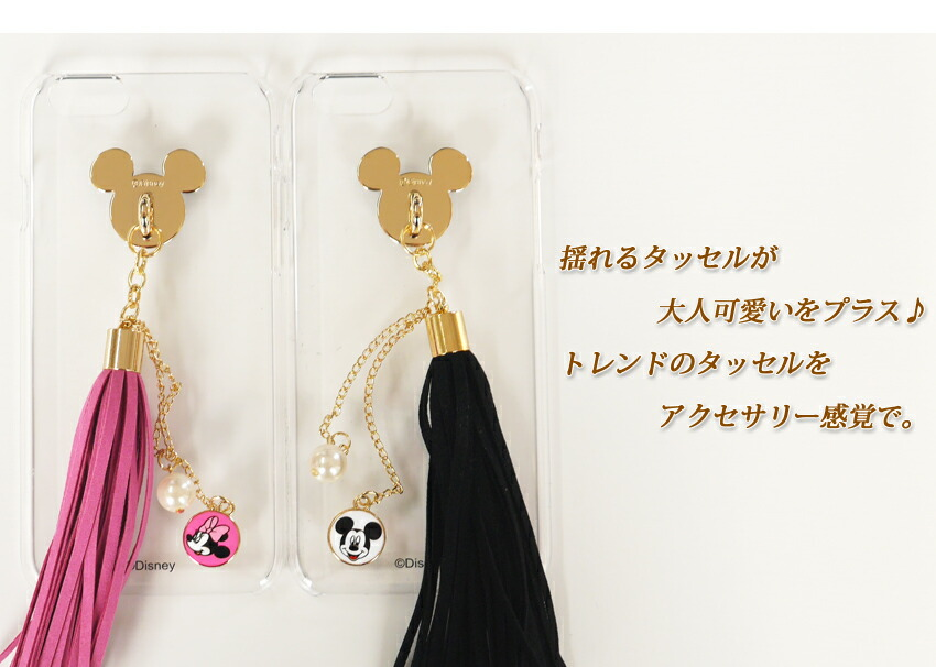 iphone6シリーズ ディズニータッセルクリアケース-2