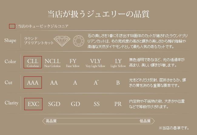 14粒 +斬新フォルム ハーフエタニティリング-7
