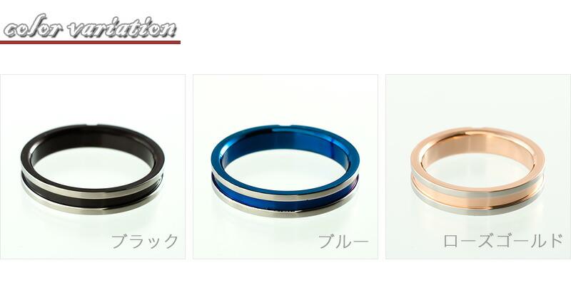ステンレス 4mm幅デントクロスリング-2