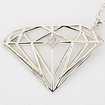 『天然ダイヤモンド0.01ct ダイヤモンドモチーフ10金ネックレス』-7