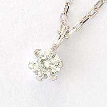 『天然ダイヤモンド0.1ct 10金ネックレス』-7