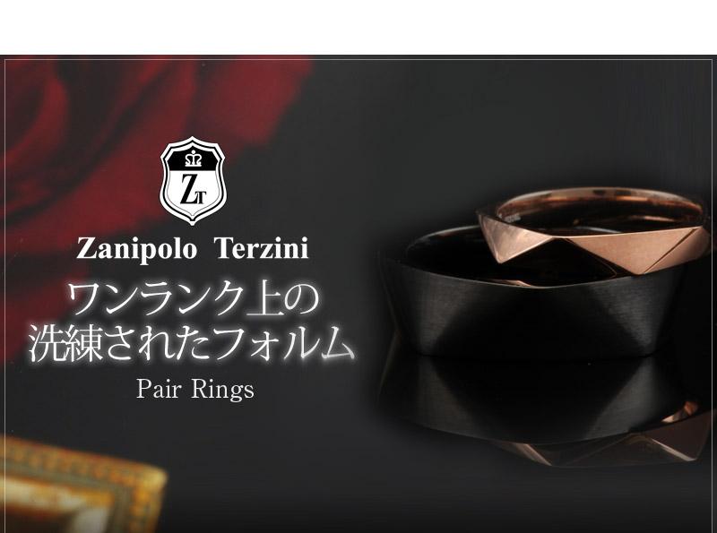 Zanipolo Terzini『天然ダイヤモンドローズ×デザインペアリング』-3