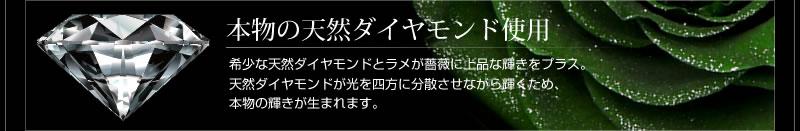 『天然ダイヤモンドローズのジュエリーケース ペルシアングリーン』-3