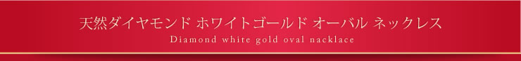 『天然ダイヤモンドネックレス 0.02カラット オーバル10金ネックレス』-2