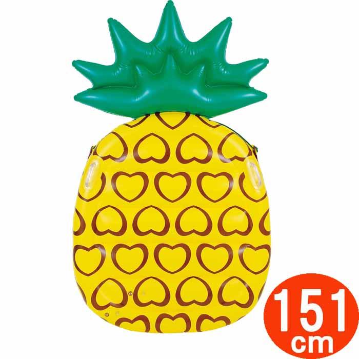 漂浮垫子救生圈菠萝165cm游泳池水上游戏海水浴海滩商品户外du-17011
