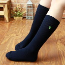 Gachapin × Mook school socks tip 28 cm-length gachapin ladies knee socks socks 3797-003 tip embroidery sybp smtb-k fs3gm all points 10 times during!