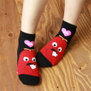 Gachapin × Mook anklet, heart and Mook ladies ' socks socks 3797-202 all points 10 times in!
