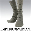 EMPORIO ARMANI ( Emporio Armani ) hair mixed mens socks socks EA Eagle logo striped crew socks 2345-111 sybp smtb-k all points 10 times in!