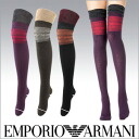 EMPORIO ARMANI ( Emporio Armani ) ladies ' socks socks ヘアリーウールジャ guard Alberni 3424-032 sybp smtb-k all points 10 times in!