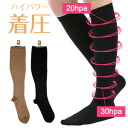 Naigai N-platz,Women's compression socks,15-23mmHg, Knee High type ,japan made,3064-903