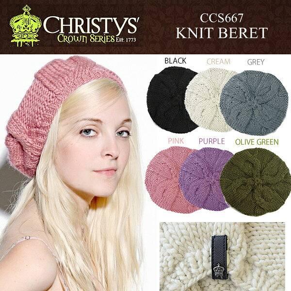 ���ꥹ�ƥ������ϥå� CHRISTY'S HAT �٥졼˹ �˥å� �롼�� ���饦�� ���㡼�� �� CCS667 ��