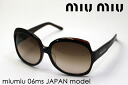 miumiu Miu Miu sunglasses Japan model MU06MS79S6S1 glassmania