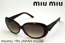 miumiu Miu Miu sunglasses Japan model MU19IS 1 glassmania sunglasses