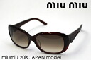 miumiu Miu Miu sunglasses Japan model MU20IS 1 glassmania sunglasses