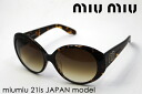 miumiu Miu Miu sunglasses Japan model MU21IS2AU1Z1 glassmania