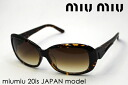 miumiu Miu Miu sunglasses Japan model MU20IS2AU1Z1 glassmania