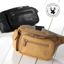 Outlet! Deerskin (deerskin) waist bag