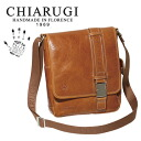 An outlet! CHIARUGI/ Kia Lodz vegetable tanning leather shoulder bag