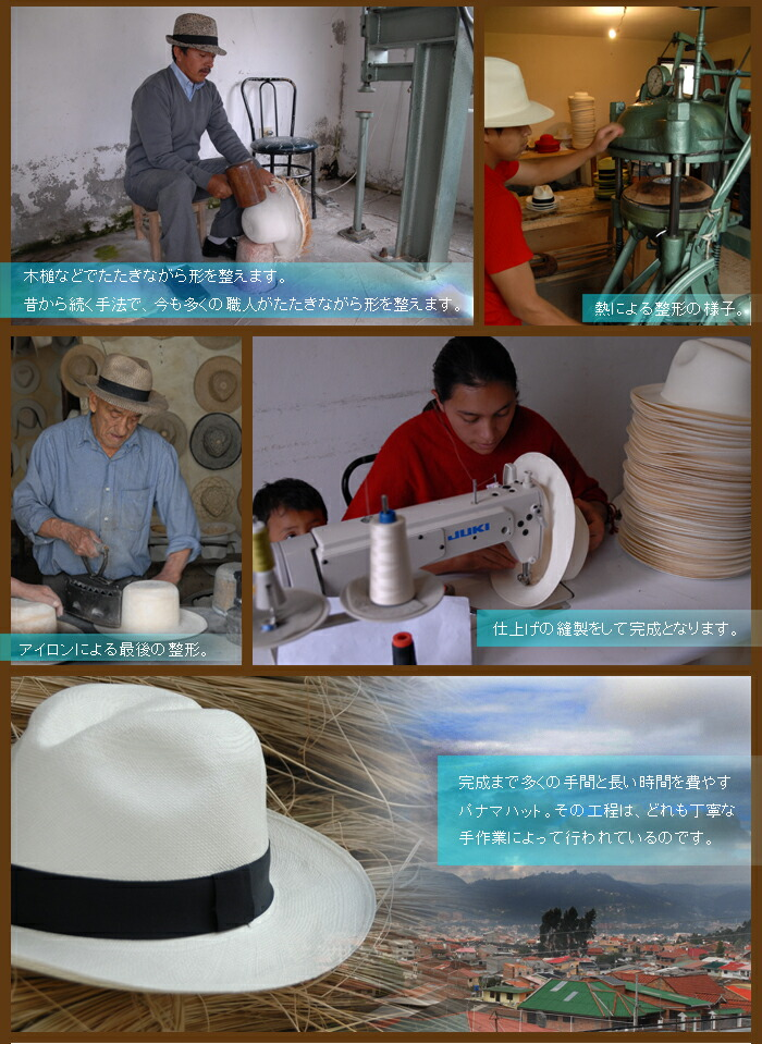 panama hat is made;