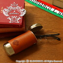 [Orobianco] glasses case / aluminum X leather [gift_ packing choice] [RCP] fs2gm [point 10 times] [10P17May13]