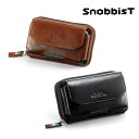 An outlet! Italian leather belt porch /Snobbist novistrike for smartphone