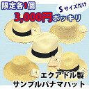 Sample panama hat small size / Panama hat / Panama / straw hat / men / Lady's / handmade fs3gm made in Ecuador