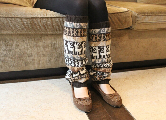 Glencheck rakuten global market alpaca leg warmer fair isle