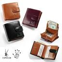 [Free Name-Engraving Service] Orice Leather Money Through Wallet
