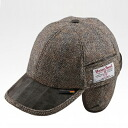 An outlet! Harris Tweed earmuffs cap made in Germany