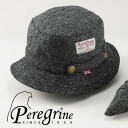 Harris Tweed Hat Made In The Peregrine (Pele Glyn) U.K.