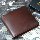 Outlet! Vintagebridleresa two fold wallet (scratches, stains)