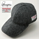 Harris Tweed Cap Made In The Peregrine (Pele Glyn) U.K.