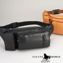 Flying Horse horse leather system waist bag