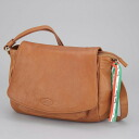 A Leather Shoulder Bag [Made In Italy]tesori Toscani