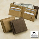 An outlet! Camel leather, folio wallet (wound, dirt)