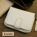Kanmi. Dot Short Wallets [Wallet] [The Dot Leather Series] [Kanmi.] [Kanmi.] [10P24Jan13]