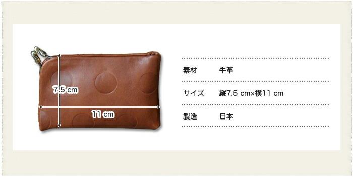 Kanmi.キャンディガマ口カードケースサイズ
