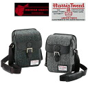 An outlet! Harris Tweed mini-shoulder bag